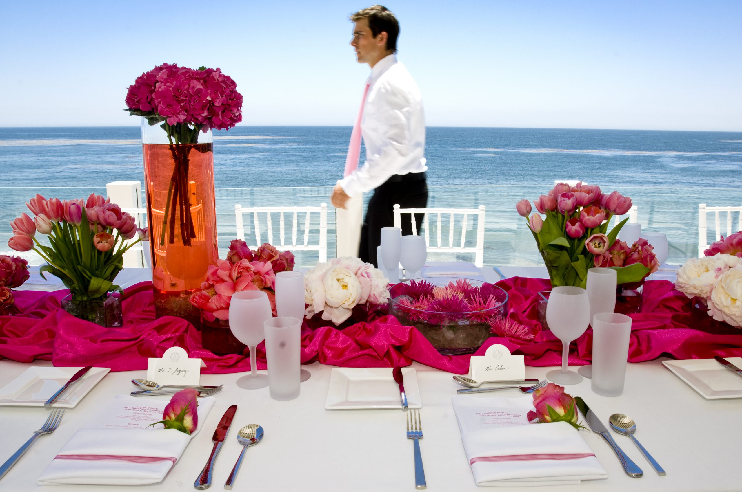 Party Table Malibu, California